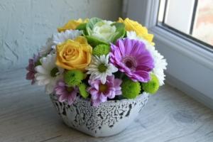 プリザーブドフラワーの緑系の花は?種類やデザインを紹介